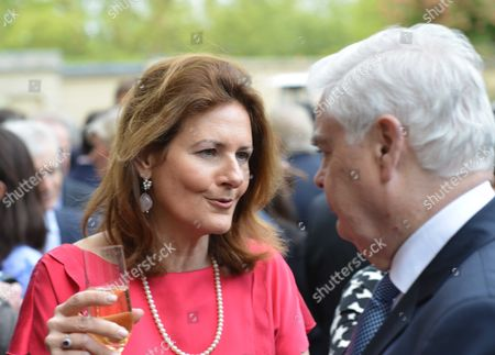 Bell Pottinger Private Summer Party at Lancaster House St James London Cristina Odone and Lord Lamont