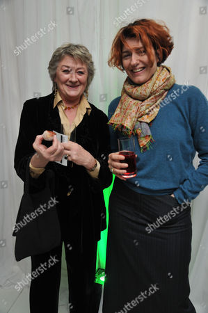 English National Ballet Host A Spectacular Star-studded Party St Martins Lane Hotel St Martins Lane Westminster London to Celebrate the Opening Night of Beyond Ballets Russes at the London Coliseum Sorcha Cusack & Anna Chancellor
