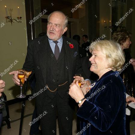 Book Launch Party For A Memoir Lady Annabel Goldsmith at Claridge's Brook Street London Claus Von Bulow & Mrs Paul Johnson