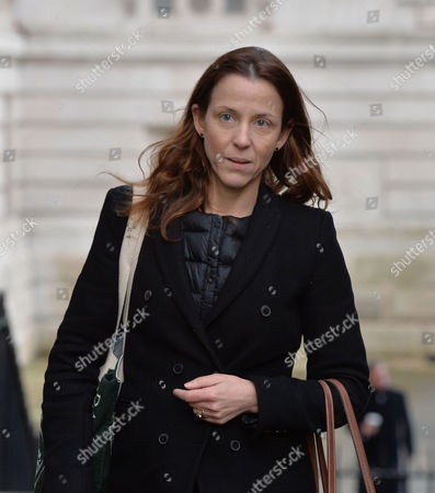 Cabinet Meeting at Number 10 Downing Street Westminster London Kate Fall Deputy Chief of Staff For David Cameron