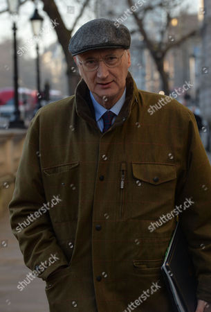 Cabinet Meeting at Number 10 Downing Street Westminster London Sir George Young Bt Mp Chief Whip