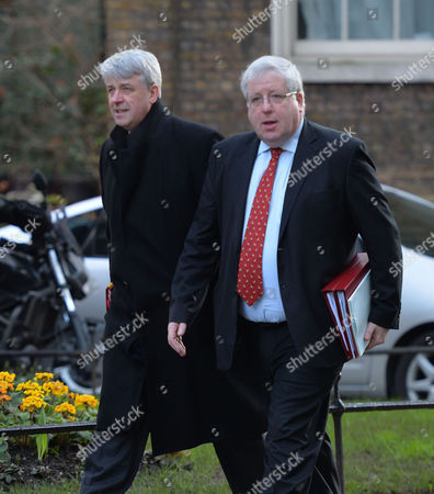 Cabinet Meeting at Number 10 Downing Street Andrew Lansley Mp and Patrick Mcloughlin Mp - Secretary of State For Transport