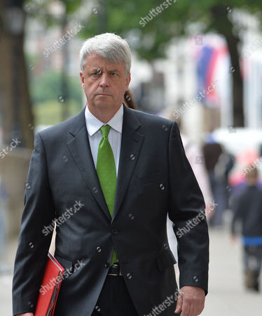 Cabinet Meeting at Number 10 Downing Street Westminster London Andrew Lansley Mp Leader of the House of Commons Lord Privy Seal