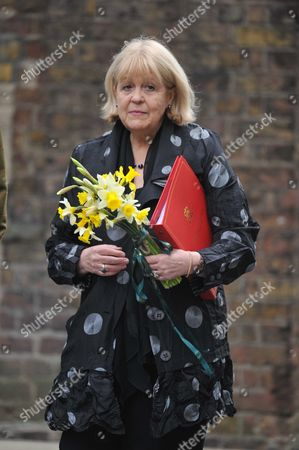 Cabinet Meeting at Number 10 Downing Street Westminster London in Honour of St David's Day Which Falls On Thursday the Rt Hon Cheryl Gillan Mp Secretary of State For Wales Brings Along Some Daffodils Grown in Wales For the Prime Minister