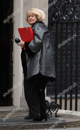 Cabinet Meeting at Number 10 Downing Street Westminster London the Rt Hon Cheryl Gillan Mp Secretary of State For Wales