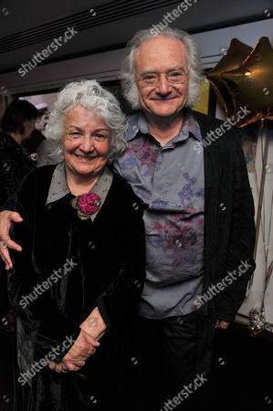 Carl Davis 75th Birthday Party at the Club at the Ivy West Street London Carl Davis with His Wife Jean Boht