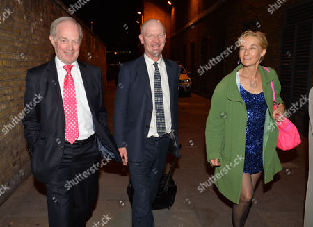Arrive For the Conservative Party Summer Ball at Old Billingsgate Market City of London Peter Lilley David Willets and His Wife