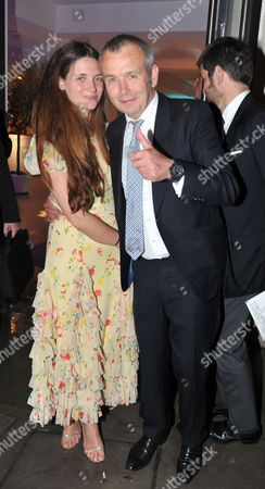 Stock Image of Conservative Summer Ball at Phillips De Pury & Company Victoria London Piers Adam with His Wife Sophie