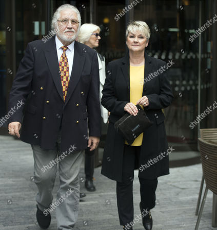 Dave Lee Travis and His Wife Arrive at Southwark Crown Court where He is to Be Sentenced Having Been Found Guilt in 1 Charge