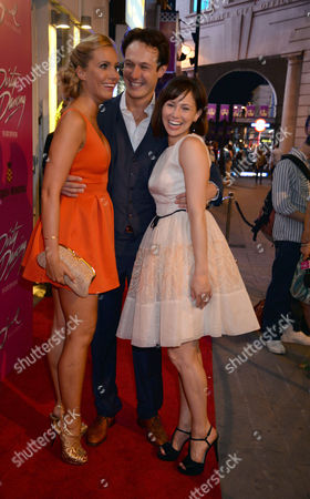 Editorial picture of Dirty Dancing Press Night