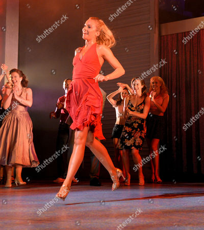 Curtain Call and After Party at the Dirty Dancing Press Night the Piccadilly Theatre Soho London Charlotte Gooch