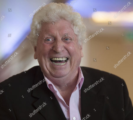 The 4th Dr Who Tom Baker During A Q & A at the Ivy Club West Street Convent Garden London For A Launch of the New Doctor Who Series Starting On the Horror Channel On Good Friday
