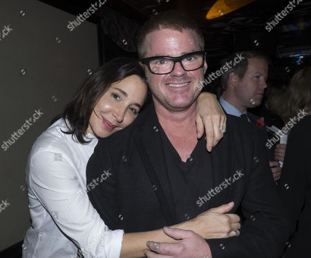 The Launch of Lisa Hilton's Elizabeth: Renaissance Prince at Loulou's 5 Hertford Street Mayfair London Heston Blumenthal with His Girlfriend Suzanne Pirret