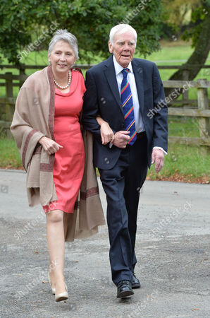 the Grooms Grandfather Antony Booth with His Wife Stephanie Buckley