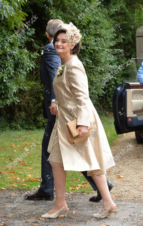 Tony & Cherie Blair Arrive at the Church