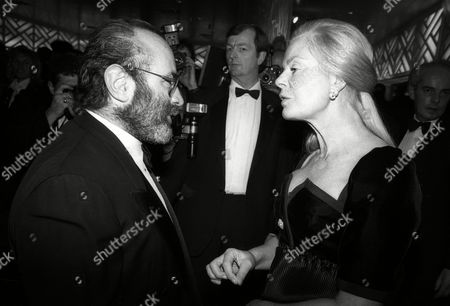 Evening Standard Film Awards Bob Hoskins with the Duchess of Kent Katharine Windsor