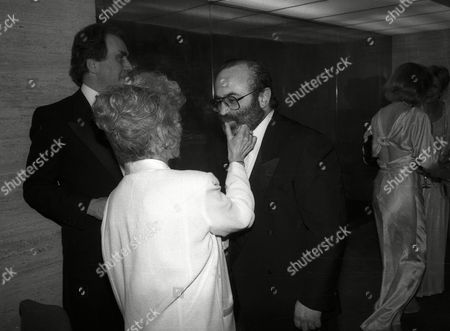 Stock Picture of Evening Standard Film Awards Billie Whitelaw with Bob Hoskins