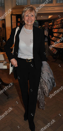 Ex-wives Book Launch at Daunt Books Marylebone High Street London Sue Lawley