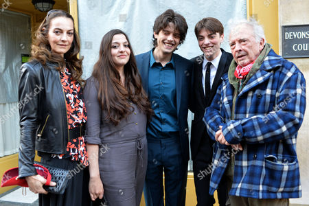 Fenton Bailey's 'Human Relations' Photography Private View at Imitate Modern Devonshire Street London Catherine Bailey, Paloma Bailey, Fenton Bailey, Sascha Bailey and David Bailey