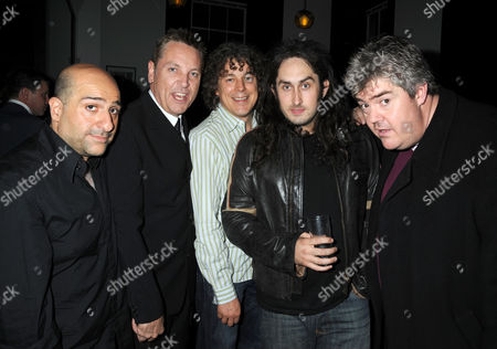 First Night Party For 'The Shawshank Redemption' at the Cafe National Gallery Omid Djalili Brian Conley Alan Davies Ross Noble and Phil Jupitus