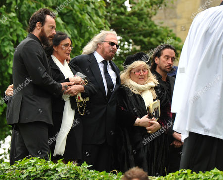 Editorial picture of Funeral of Robin Gibb