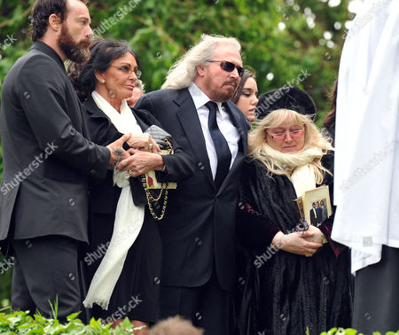 Editorial image of Funeral of Robin Gibb