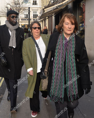Funeral Service For Roger Lloyd-pack at St Paul's Church the Actors Church in Bedford Street Convent Garden London Kathy Burke