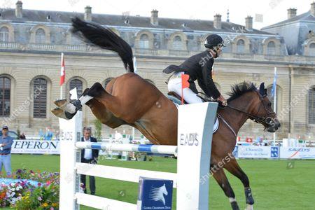 Global Champions Tour Jumping Chantilly at the Hippodrome De Chantilly Chantilly France Saturday Richard Spooner Usa