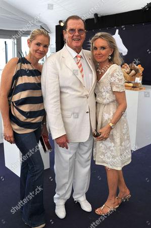 Global Champions Tour of Monaco Saturday Christina Knudsen Sir Roger & Lady Kiki Moore