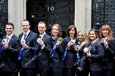 Editorial photo of Great Britains Winter Olympic Medalists