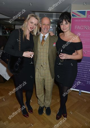 Great British Spelt Recipes Launch at the Athenaeum Hotel Piccadilly London Sophie Michell Roger Saul & Gizzi Erskine
