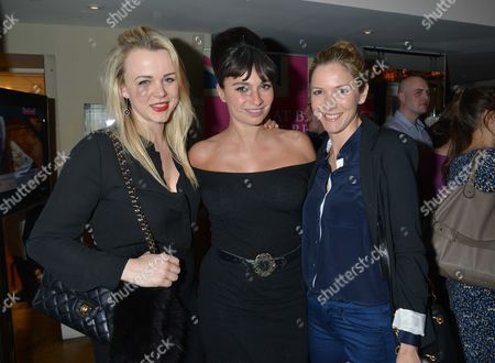 Great British Spelt Recipes Launch at the Athenaeum Hotel Piccadilly London Sophie Michell Gizzi Erskine & Lisa Faulkner