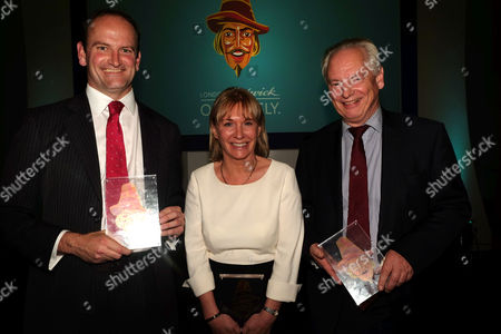 Guido Fawkes 10th Anniversary Dinner at the Iod Pall Mall Mayfair London Winners Douglas Carswell Ukip Mp Nadine Dorries Mp and Francis Maude Mp