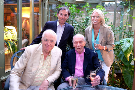 Editorial picture of Herbert Kretzmer Launch For His Book Snapshots -