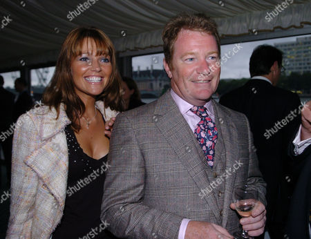 Stock Photo of Michael Howard's Summer Reception at the Terrace at the House of Commons On His 62nd Birthday Jim Davidson & Michelle Cotton