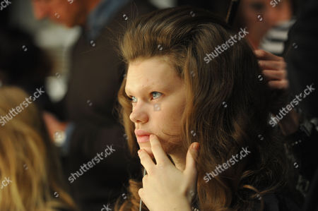 Stock Photo of London Fashion Week Issa Hair & Make Up the Court Yard Space Somerset House the Strand London American Super Model Kelly Mittendorf