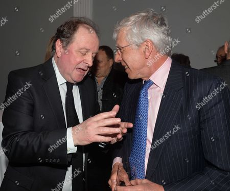 James Naughtie: the Madness of July - Book Launch Party For the Publication of His Debut Novel the Madness of July A Thriller Set in the Cold War at the Institute of Contemporary Arts Carlton House Terrace London James Naughtie & Jack Straw