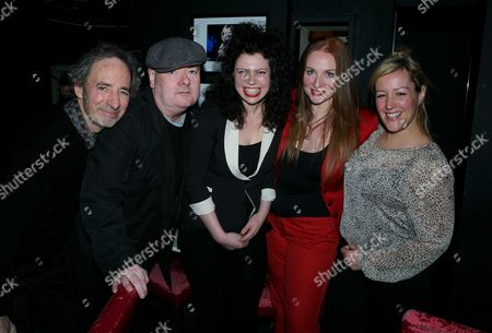 Judith Owen Performing at the Jazz Club Soho (pizza Express) in Dean Street Soho London where She is Launching Her New Album 'Some Kind of Comfort' Harry Shearer Ian Shaw Gabriella Swallow Judith Owen and Alice Russell