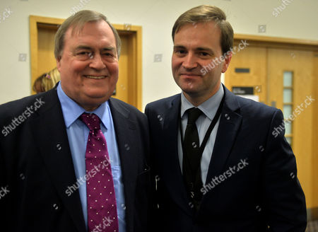 Labour Party Special Conference at the Excel Centre Docklands East London Lord John Prescott and His Son David Prescott