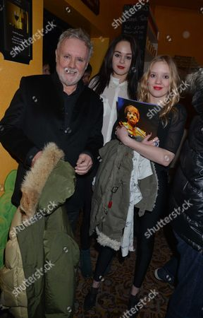 Roger Taylor, Lola Daisy May Leng Taylor and Genevieve Potgieter. Let It Be Transfer Gala Night at the Savoy Theatre the Strand London and After Party at Adam Street Club Adam Street the Strand London