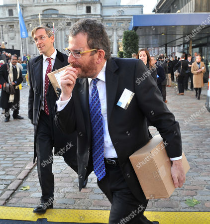 Stock Photo of Leveson Report at the Qe11 Centre Westminster London Robert Jay Qc