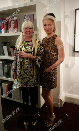 Private View of Marco Glaviano: Supermodels at the Little Black Gallery Park Walk Fulham London Lindsey Carlos Clarke and Tamara Beckwith