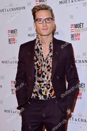 Stock Photo of London, England, 11th June 2016: Oliver Proudlock Attends Moet & Chandon Now Or Neverland Party at Victoria House, Bloomsbury, London On the 11th June 2016.