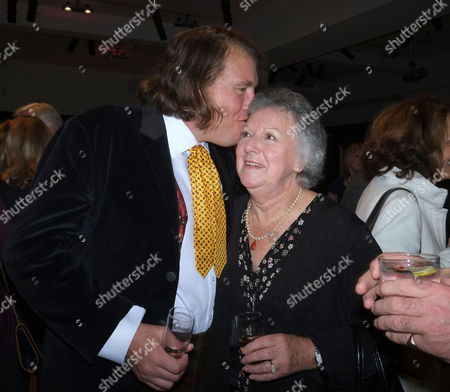 Lord of the Isle – the Extravagant Life and Times of Colin Tennant Book Launch at Bonhams New Bond Street Mayfair London Christopher Tennant with His Nanny