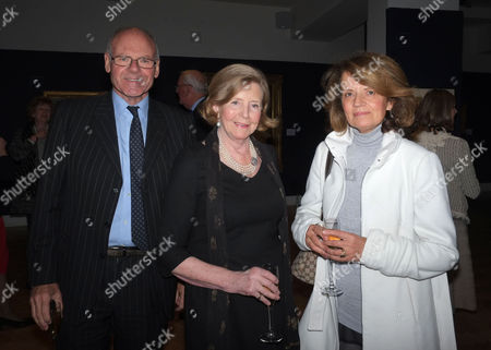 Lord of the Isle - the Extravagant Life and Times of Colin Tennant Book Launch at Bonhams New Bond Street Mayfair London Lord Anthony Colwyn Lady Anne Glenconner & Emma Cheape