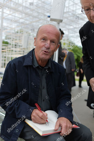 Man Booker Prize Short List Party at the Serpentine Gallery Kensington Gardens London Shortlisted Author Jim Crace