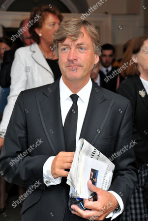 Memorial Service For Alan Whicker Grosvenor Chapel South Audley Street Mayfair London Richard Madeley