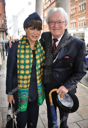Memorial Service For Alan Whicker Grosvenor Chapel South Audley Street Mayfair London Leslie & Evie Bricusse