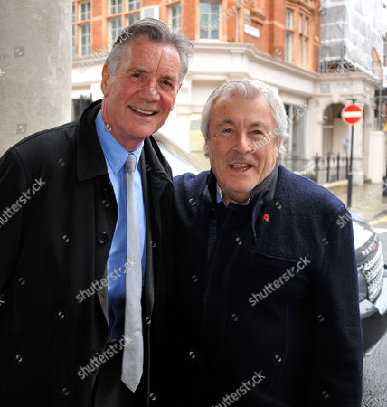 Memorial Service For Alan Whicker Grosvenor Chapel South Audley Street Mayfair London Michael Palin & Terry O'neil