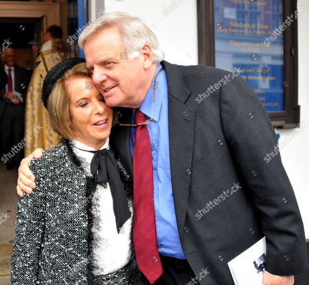 Memorial Service For Alan Whicker Grosvenor Chapel South Audley Street Mayfair London Valerie Kleeman and Lord Michael Grade